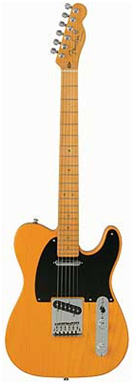 guitare électrique solid-body Fender Telecaster AM DLX Ash Mn MM